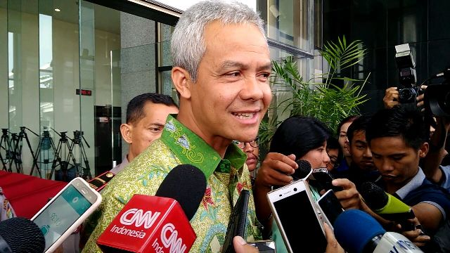 Ganjar Pranowo Inquired As Witness in E-KTP Case