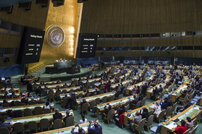 122 countries Adopt Global Treaty Banning Nuclear weapons