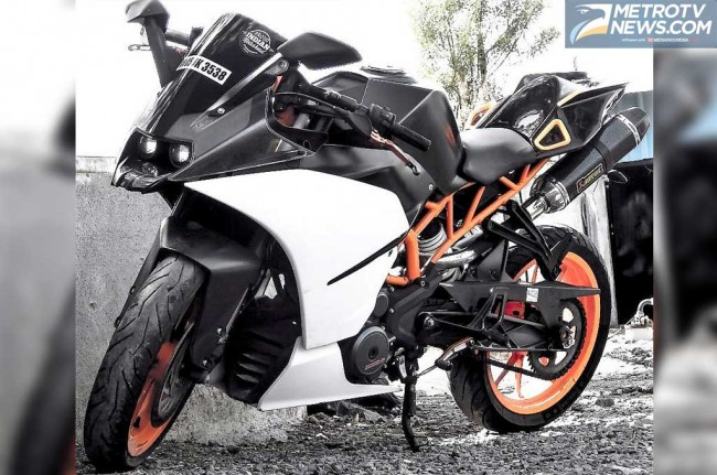 KTM RC-390 Makin Sporty dan Gahar