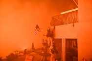 Forest Fires Rage in Sweltering California