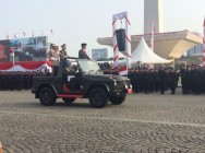 Jokowi Leads National Police Anniversary Ceremony