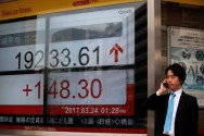 Asian Markets Push Rally Into Second Day Ahead of Earnings