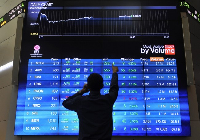 Stabil Menguat, IHSG Dibuka ke Level 5.839