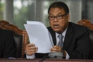 Arief Hidayat Re-elected as Constitutional Court Chief