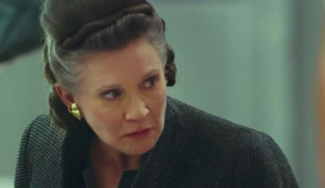 Video Di Balik Layar Star Wars: The Last Jedi Tampilkan Carrie Fisher