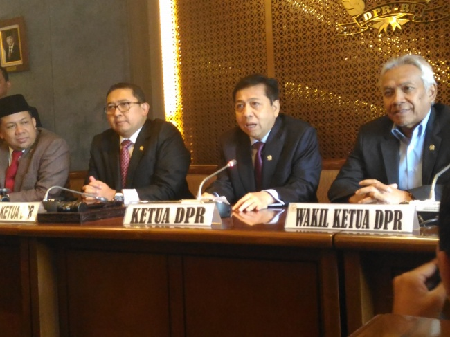 Setya Novanto Remains House Speaker