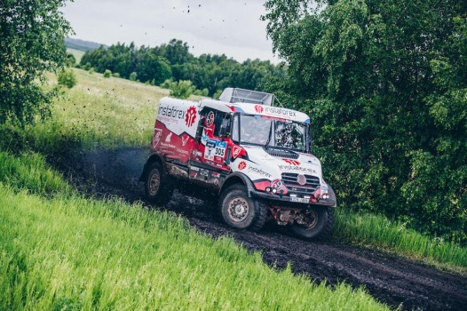 Adu Kuat 'Monster' di Silk Way Rally 2017