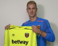 West Ham Pinjam Joe Hart dari Man City