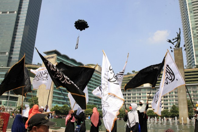 Govt Disbands Hizbut Tahrir Indonesia