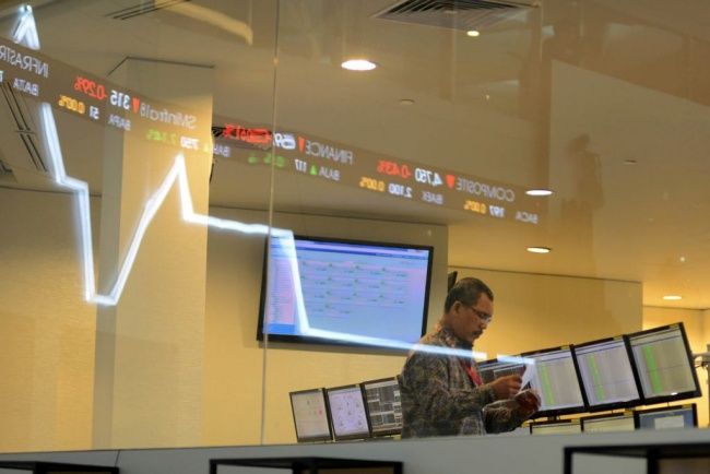 JCI Drops 0.543% in First Session