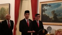 Jokowi Receives Navy Veterans
