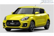 New Suzuki Swift Sport, Bakal Debut September