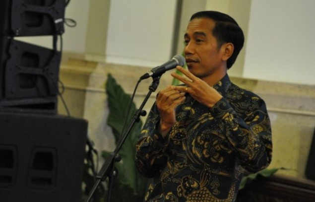 Jokowi Inaugurates Hajj Fund Agency Officials