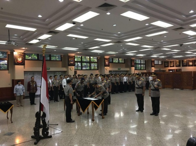 New Jakarta Metro Police Head inaugurated