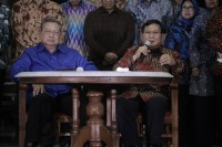 Prabowo Sebut <i>Presidential Threshold</i> Lelucon Politik