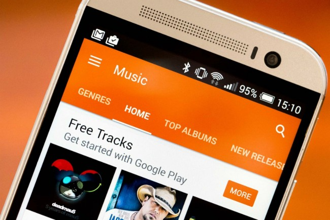 Aplikasi Android Play Music