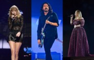 Dave Grohl Sangkal Rumor Keterlibatan Adele dan Taylor Swift di Album Foo Fighters