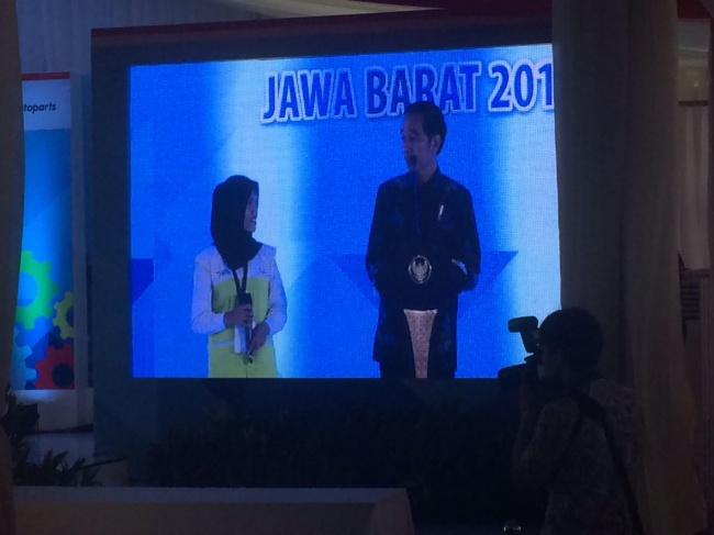Jokowi Attends Industrial Vocation Program's Launching
