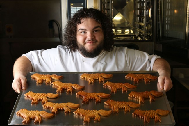 Pemeran Hot Pie di Game of Thrones Buka Toko Roti Sungguhan