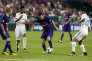 Drama Lima Gol, Barcelona Bungkam Madrid di AS
