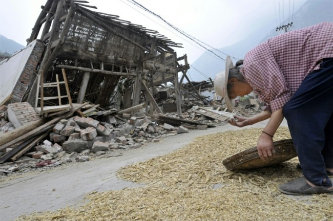 China's Sichuan Hit By 6.5 Magnitude Quake: USGS