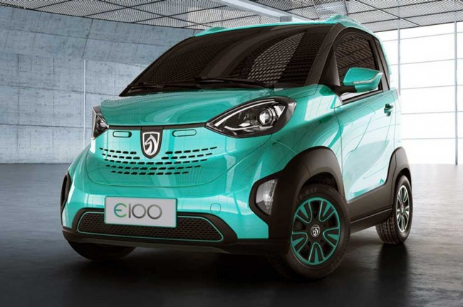 Baojun E100 Kembaran Smart ForTwo Electric