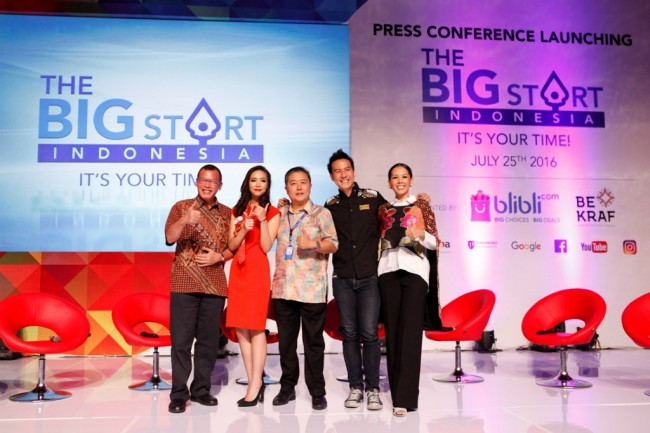 Kembali Gelar The Big Start Indonesia, Blibli Incar Pengusaha Kreatif Muda