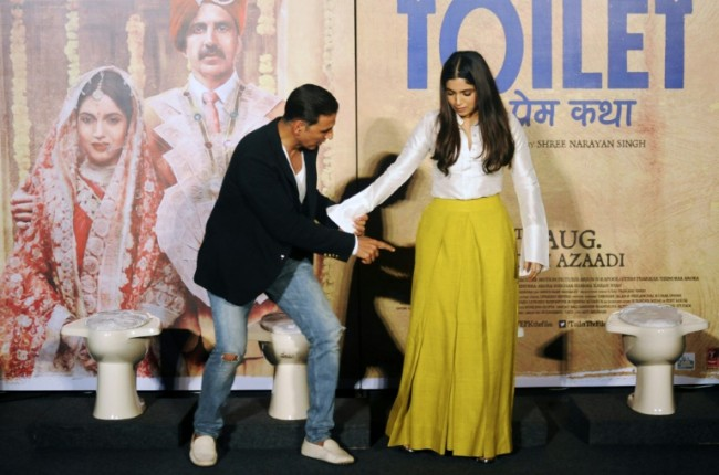 Bollywood Film Spotlights India's Toilet Shortage