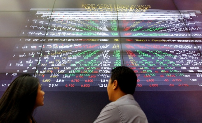JCI Rises 0.315% in Morning Session