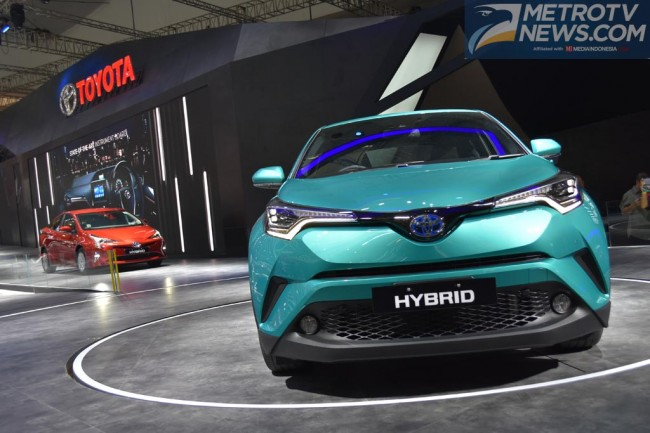 Toyota Optimis Bakal Jual C-HR di Indonesia