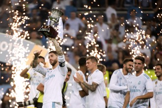 Real Madrid Juara Piala Super Spanyol