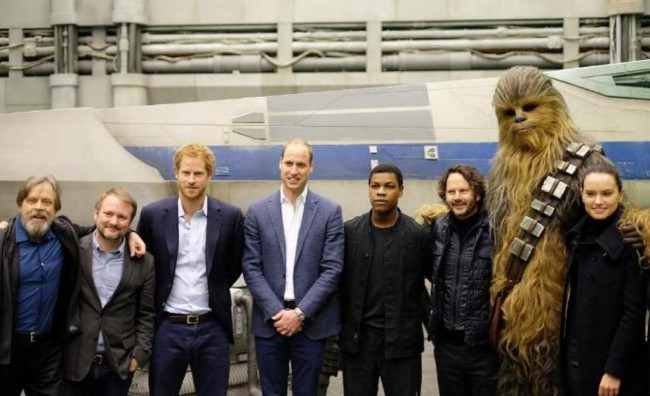 Pangeran William dan Harry jadi Cameo di Star Wars: The Last Jedi