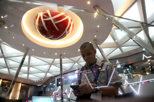 JCI Down 0.531% in Morning Session