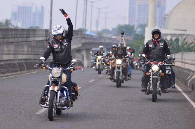Royal Riders Indonesia Konvoi Parade Kemerdekaan