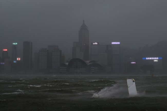 Hong Kong Raises Highest Warning for Severe Typhoon Hato