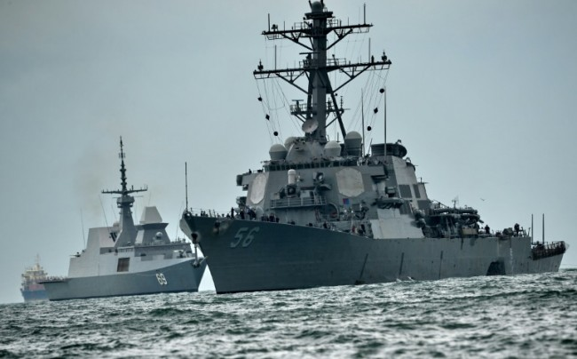 US Navy Dismisses Commander after Deadly Warship Collision