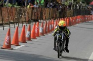 Alfan Optimis Rebut Juara Umum Kejurnas Drag Bike