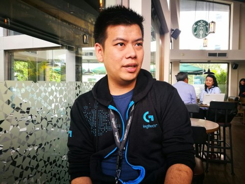 Andrew Tobias, Asst. Channel Category Manager Logitech Indonesia (MTVN/MAMDUH)
