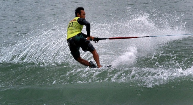 Kontingen Ski Air dan Wakeboard Indonesia Pecahkan Rekor SEA Games