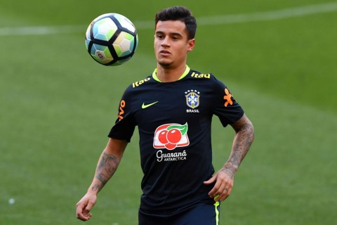 Pemain Liverpool Philippe Coutinho (Foto: AFP)