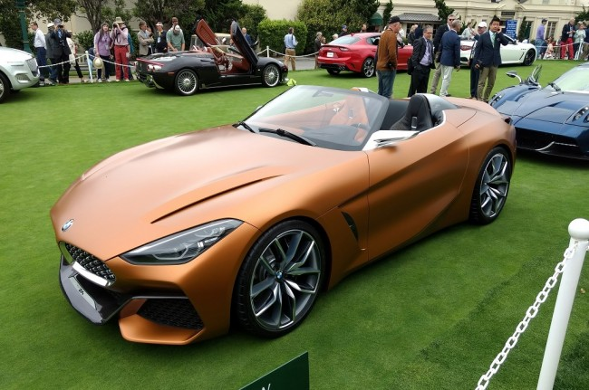 BMW Z4 Concept Debut di California