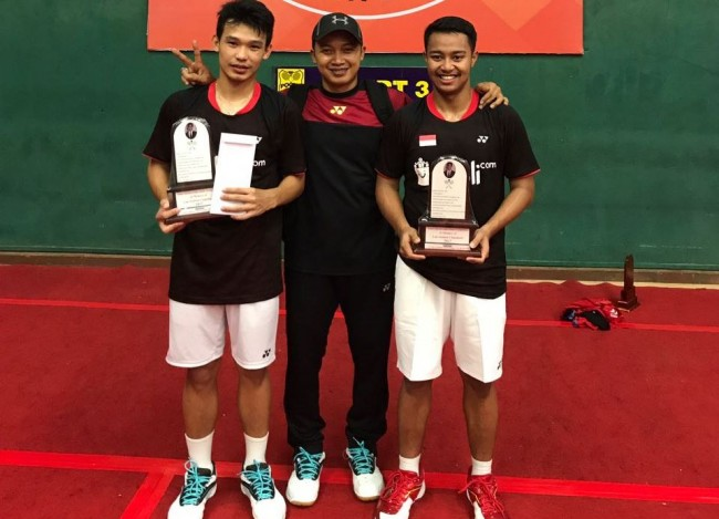 Indonesia Boyong Satu Gelar dari India Junior International 2017