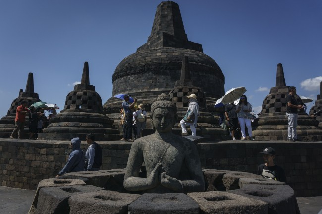 Police Prohibit Rally at Borobodur