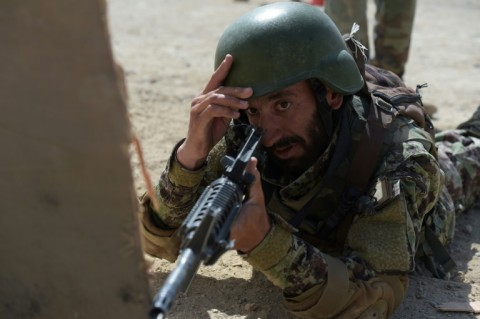 New members of Afghanistan's Special Operations Command (SOC) will soon be on the frontline of the war. (Photo:AFP/Shah Marai)