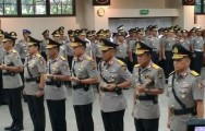 Five New Regional Police Chiefs Inaugurated
