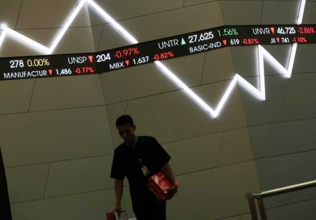JCI Down 18 Points in Morning Session