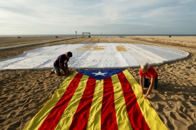 Catalonia Launches Its Independence Challenge Against Spain