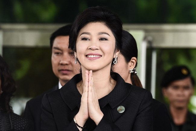 Yingluck's Escape Convoy Seen Heading Towards Cambodia: Thai Junta