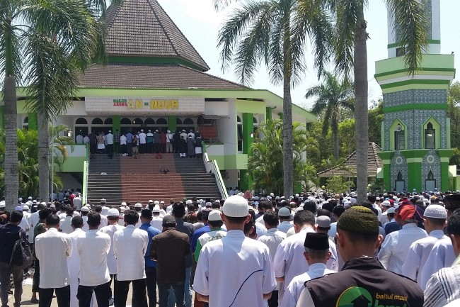 Pro-Rohingya Rally Held in Magelang