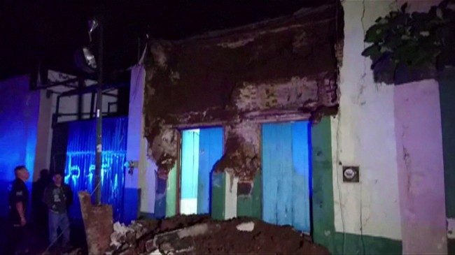 At Least 15 Dead as Magnitude 8.2 Quake Rocks Mexico